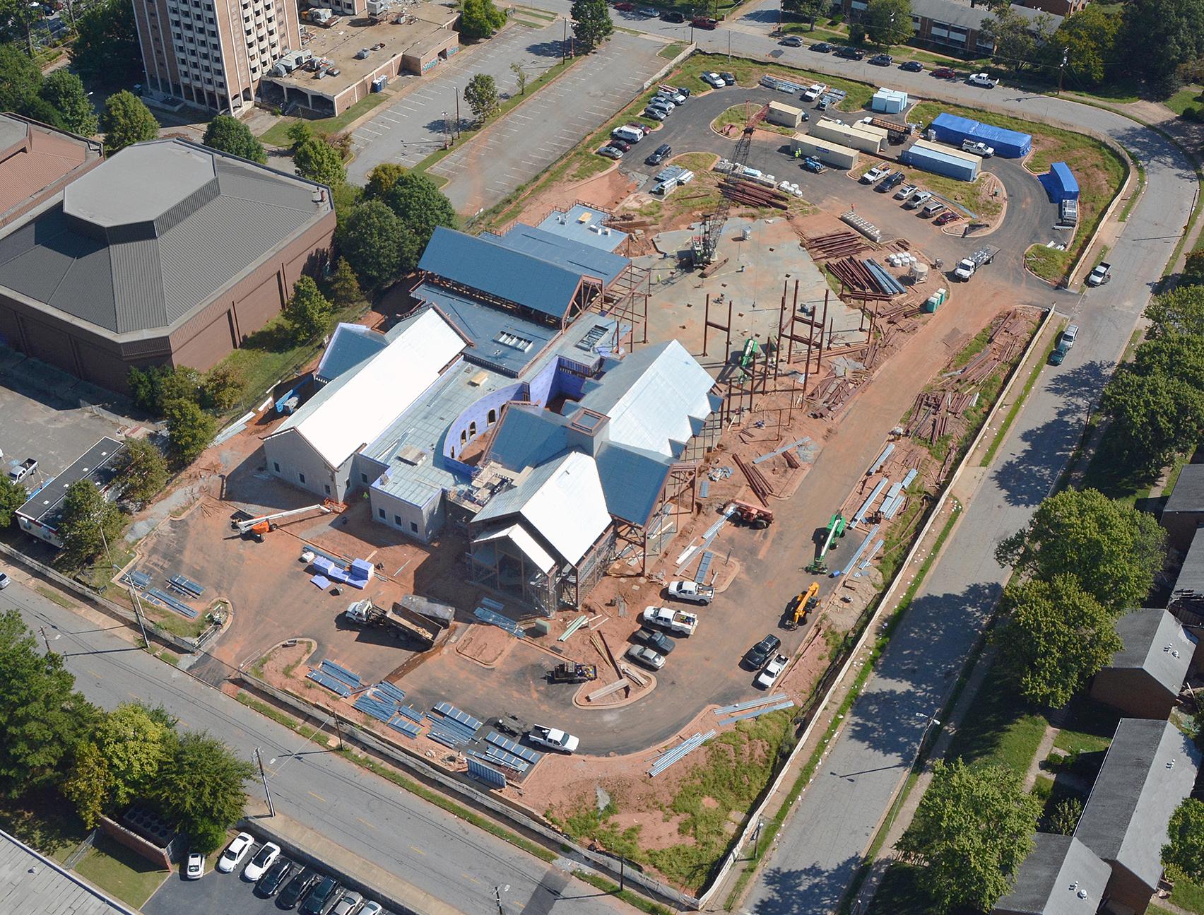 Friendship Baptist, Church, Van Winkle Construction, October 2106, CD Moody, CDH Partners