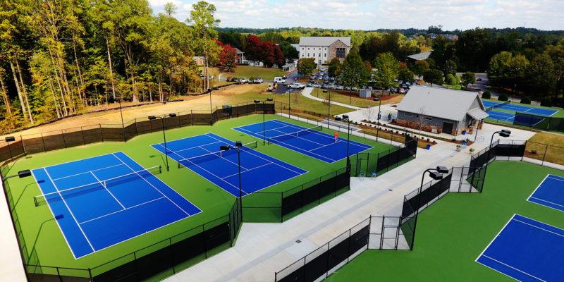 whitefield academy tennis court complex