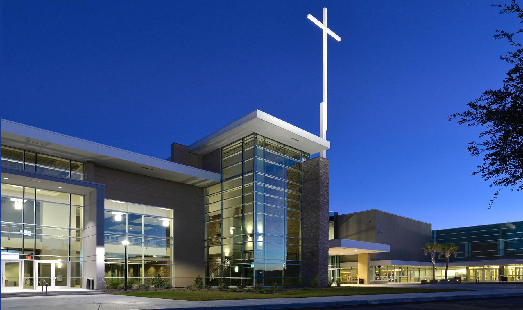 Compassion christian church van winkle construction for Church exterior design