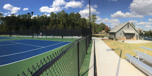 Whitefield Academy Tennis Complex, Cool New Media, Van Winkle Construction
