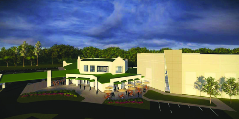 Vibrant Church rendering of new addition