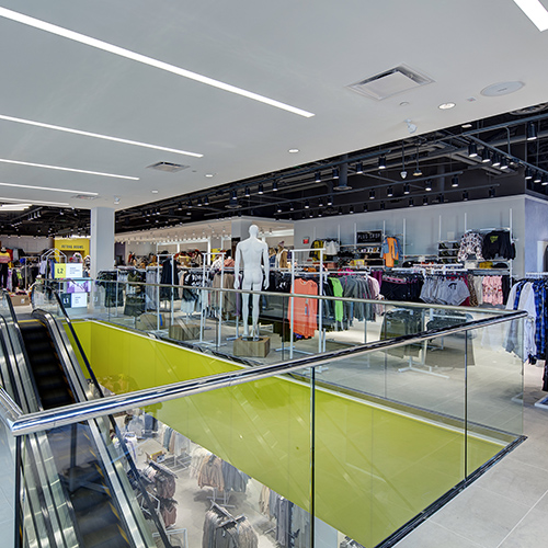 H&M, Forever 21, and Bowlero at Atlantic Station - 2nd Floor