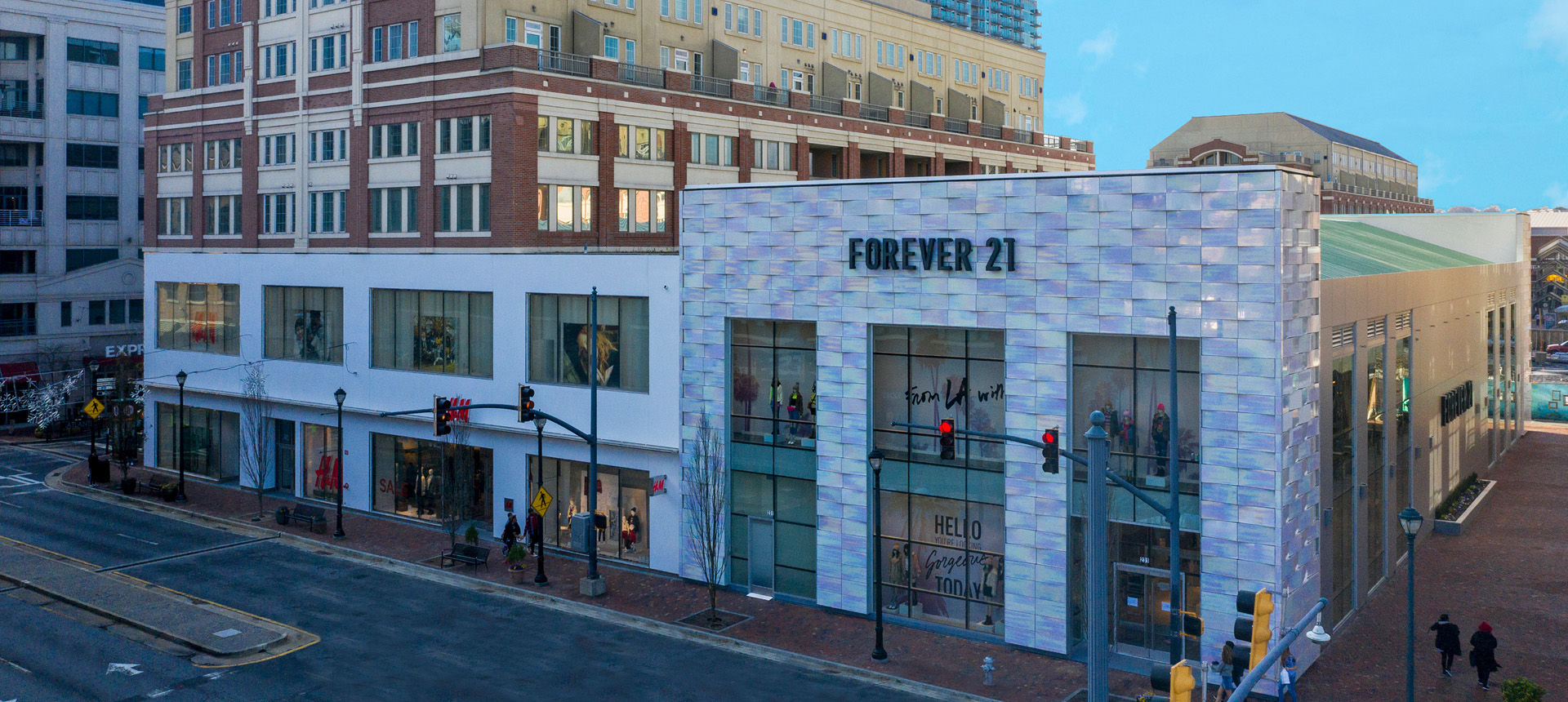 H&M, Forever 21, and Bowlero at Atlantic Station - H&M Facade