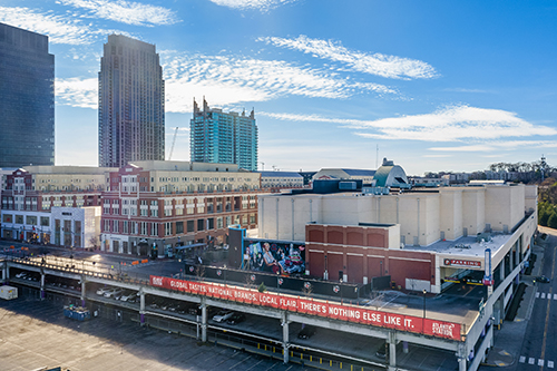 H&M, Forever 21, and Bowlero at Atlantic Station - Parking Deck