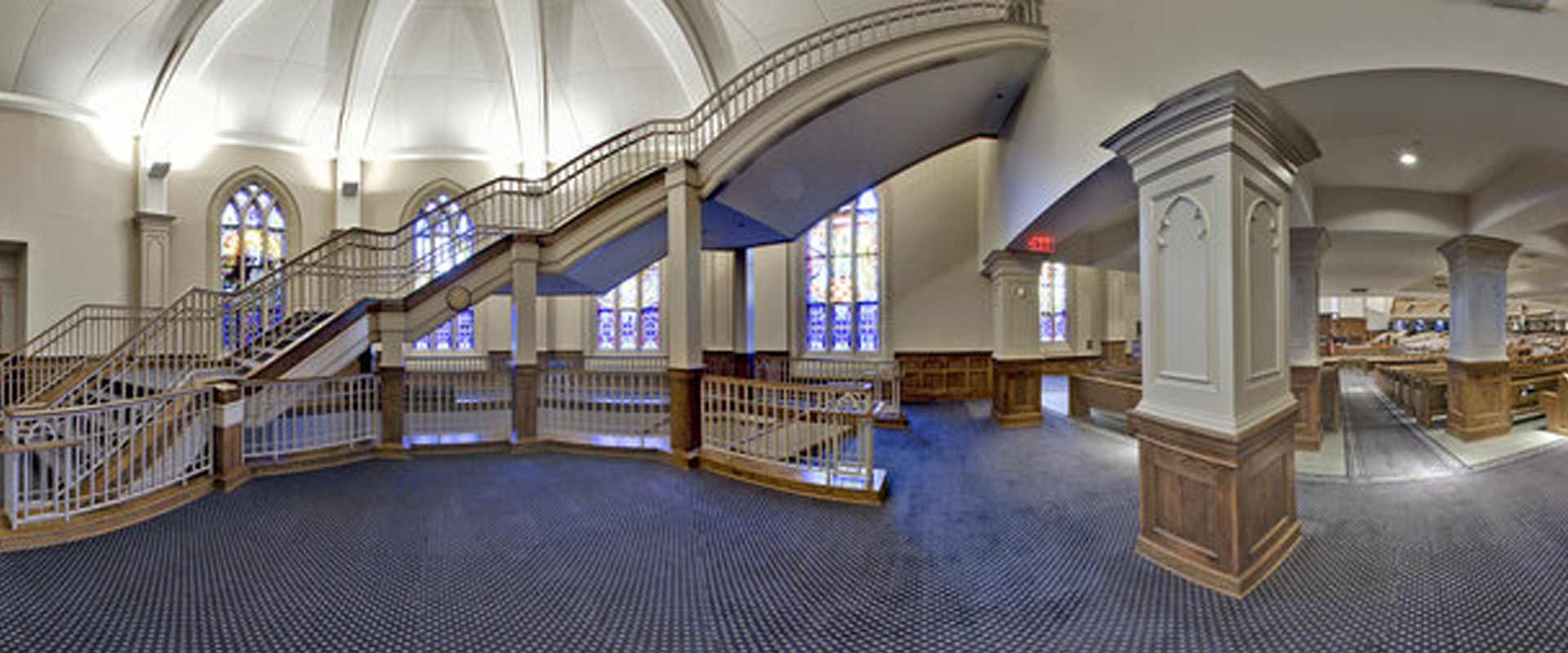 Church of the Apostles - Stairway