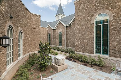 Friendship Baptist Church - Courtyard