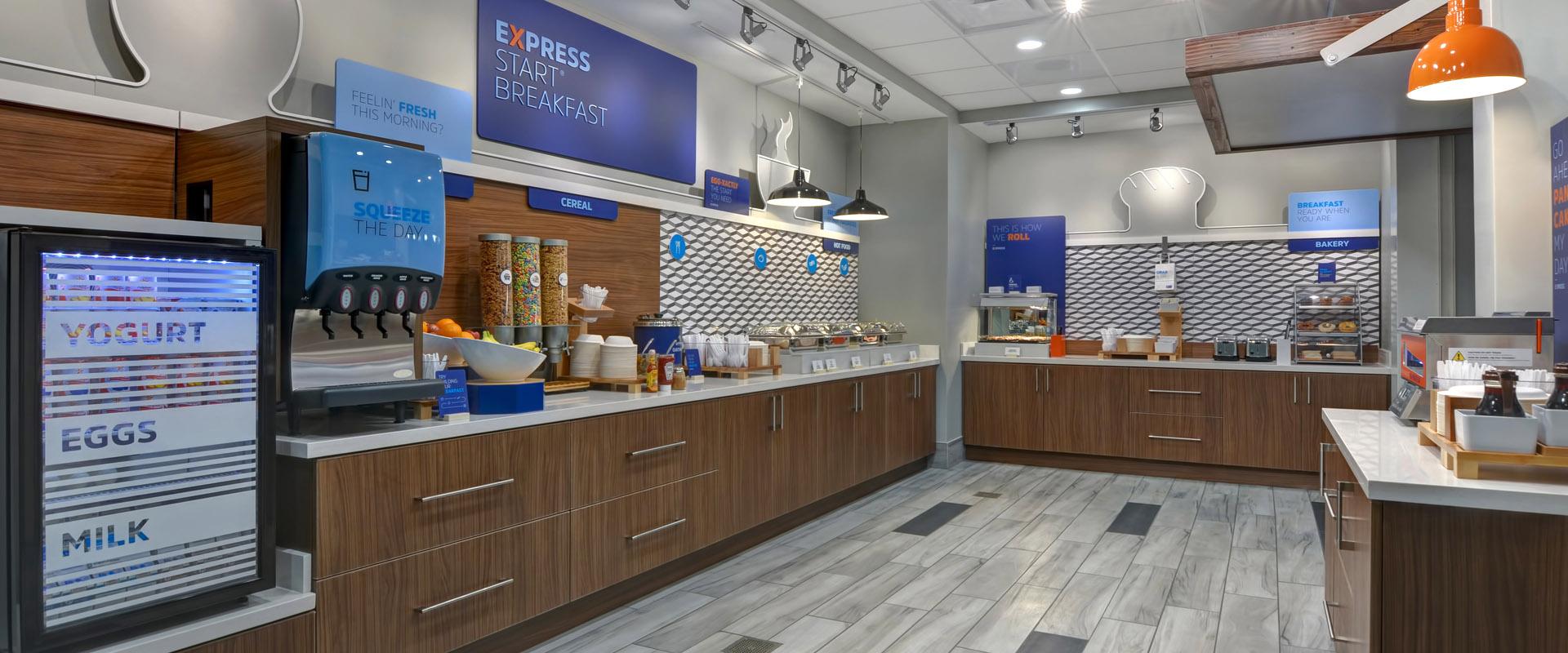 Holiday Inn Express Greenville - Breakfast Buffet