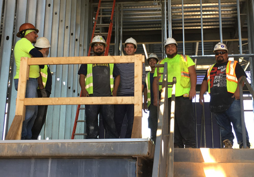 Kings Ridge Christian School Topping Out