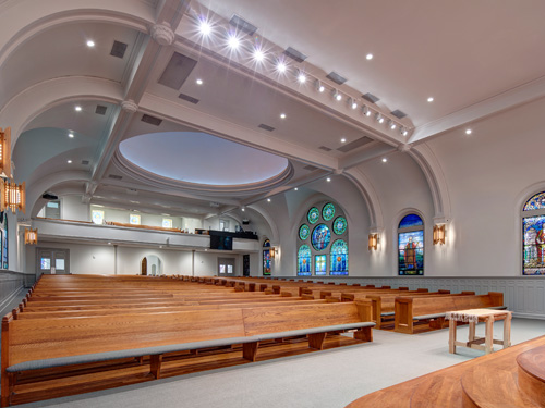 Main Level at North Avenue Presbyterian Church