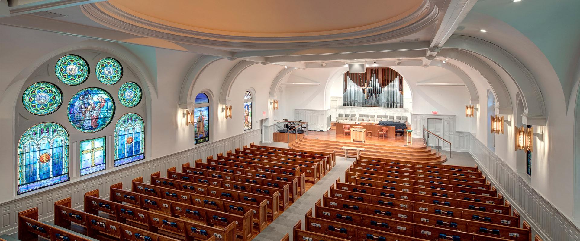 North Avenue Presbyterian Church - Sanctuary