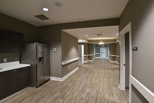 The Cottages at Rockmart - Hallway