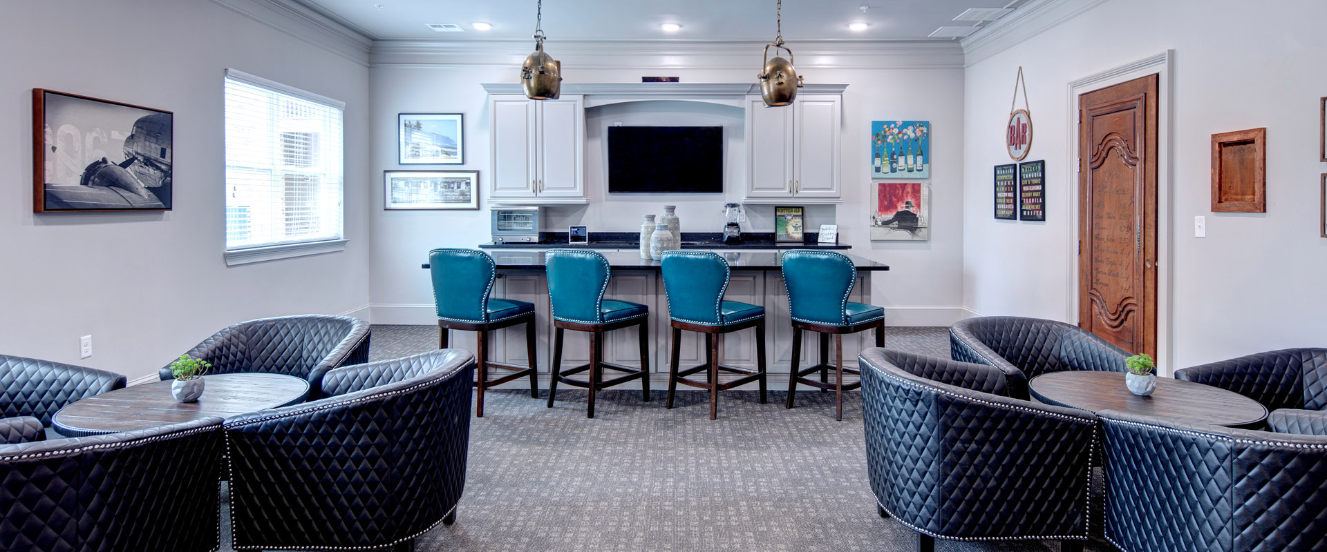 The Mansions at Gwinnett Park - Lounge Area