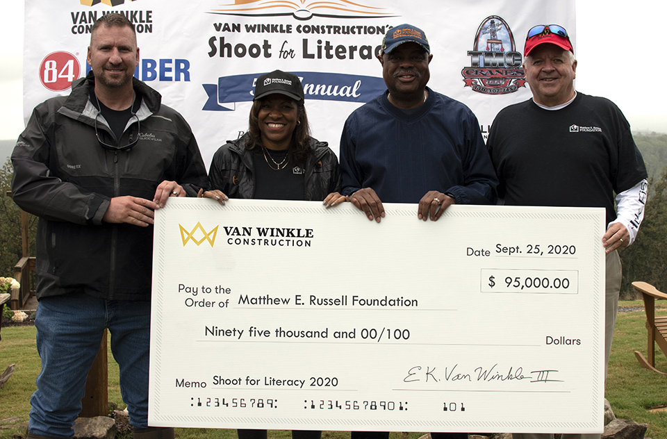 #VanWinklehelps Fifth Annual Shoot for Literacy