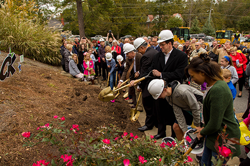 Groundbreaking at Alpharetta First United Methodist Church