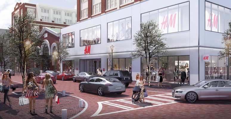 H&M Atlantic Station: Change is in the Air