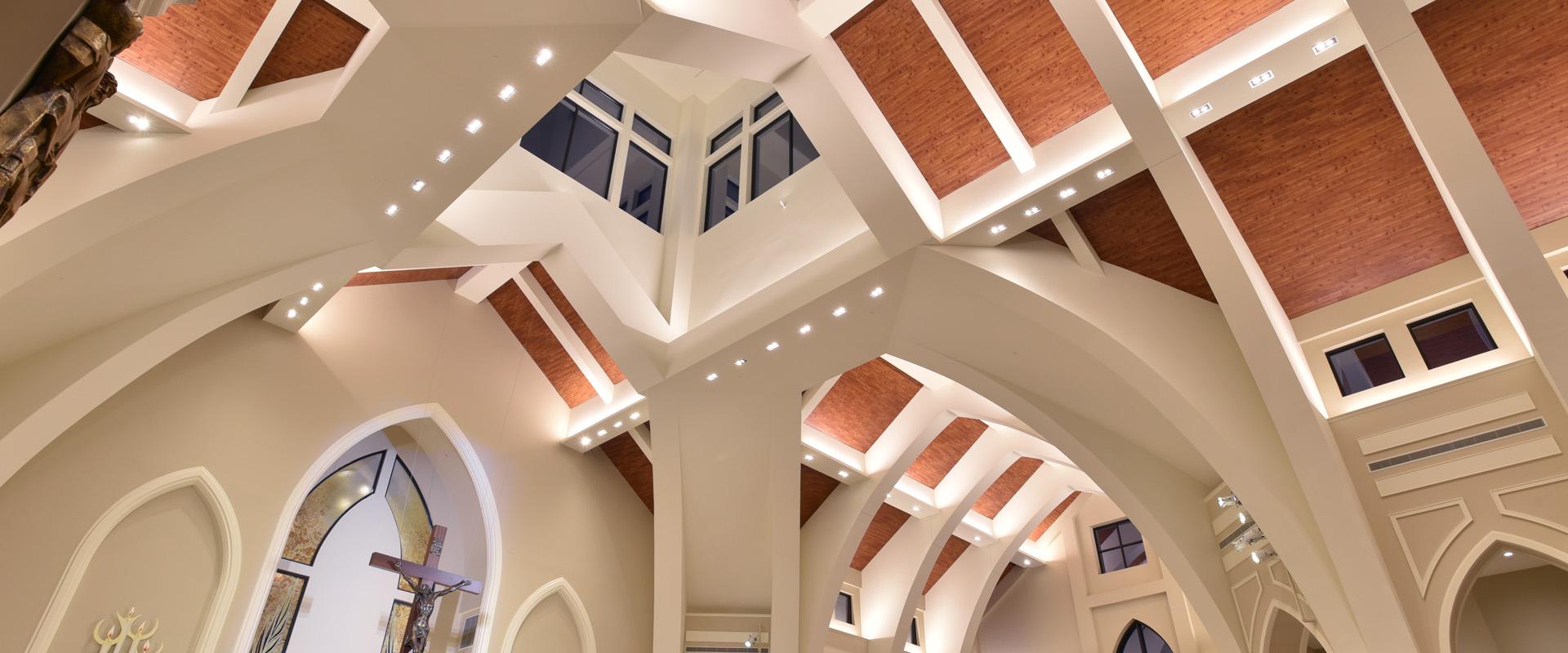 Holy Vietnamese Martyrs Catholic Church - Sanctuary Ceiling