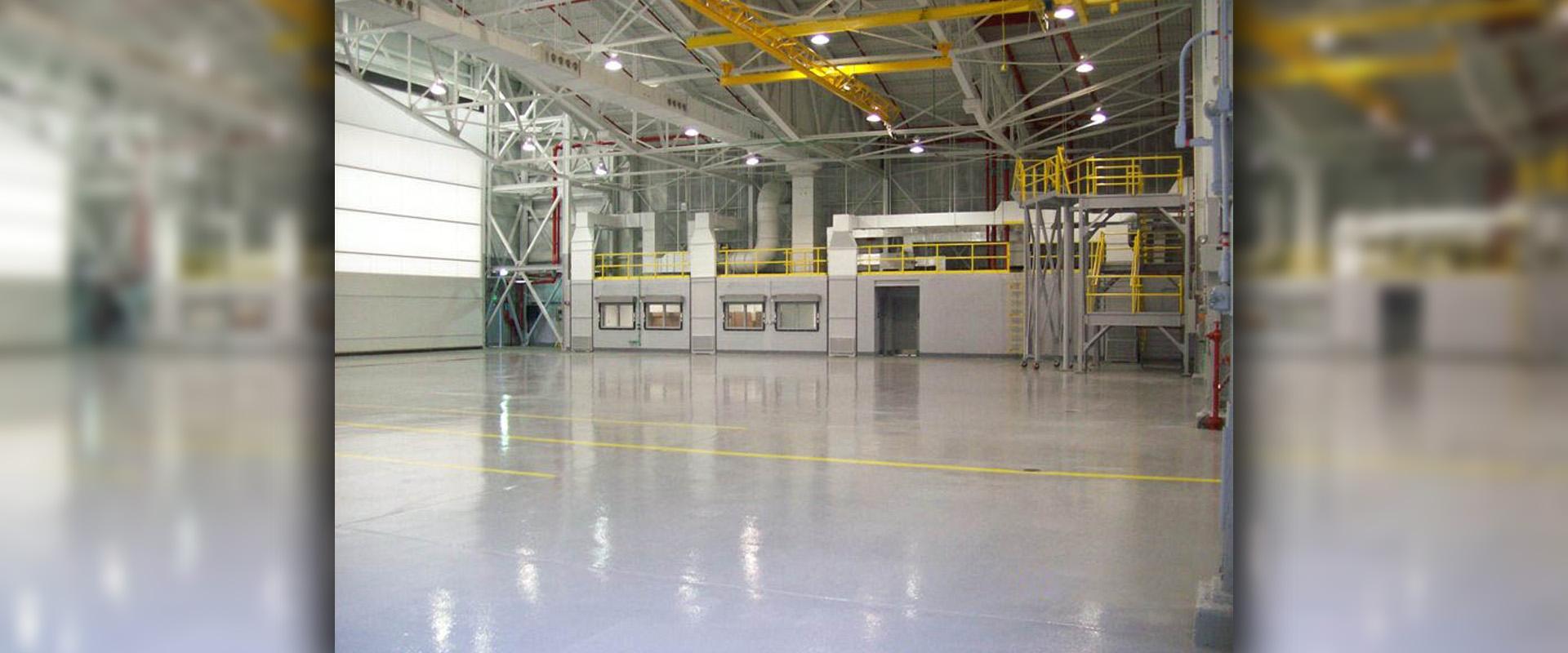 Lockheed Martin B82, B83 and B84 Hangars - B82 Hangar