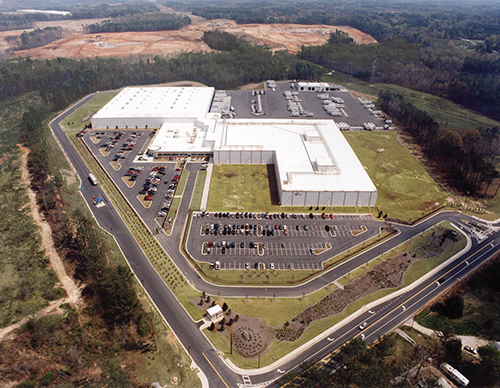 US Foods Fairburn Distribution Center - Layout