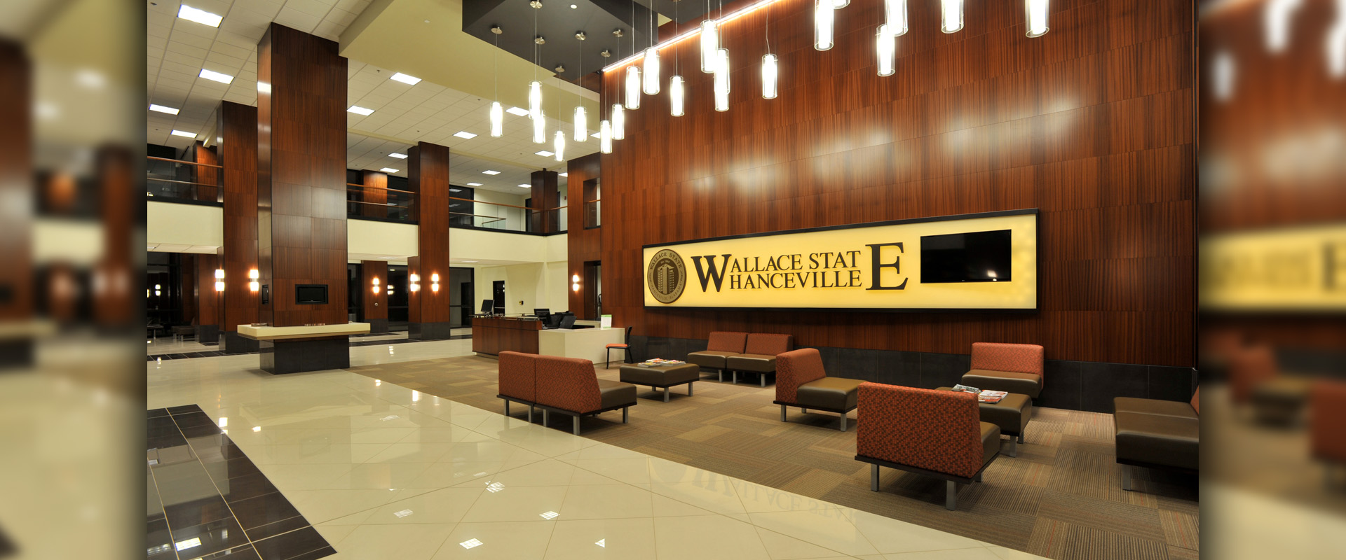 Wallace State University James C Bailey Center - Reception Area