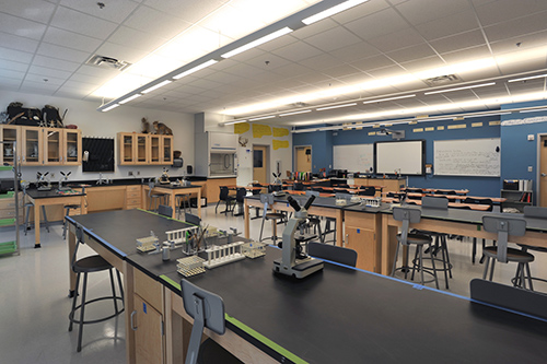 Whitefield Academy-Morris Hall - Science Lab