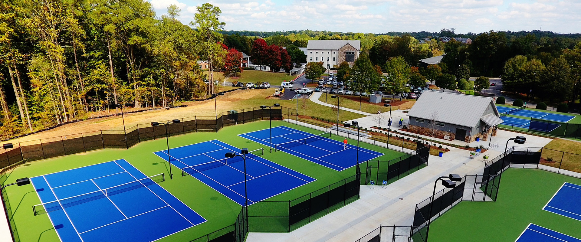 Whitefield Academy-Tennis Complex - Overhead