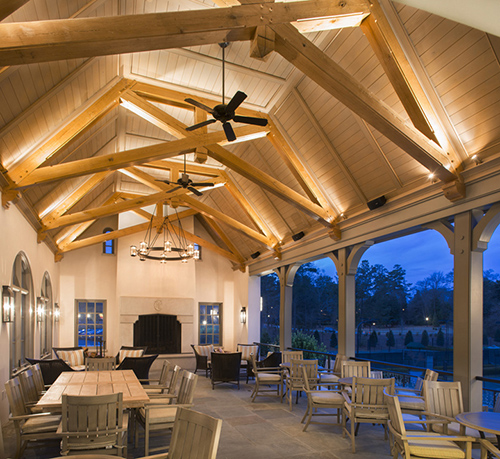 Cherokee Town & Country Club - Outdoor Patio