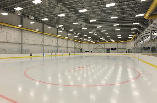 Columbus Ice Rink - On Ice View