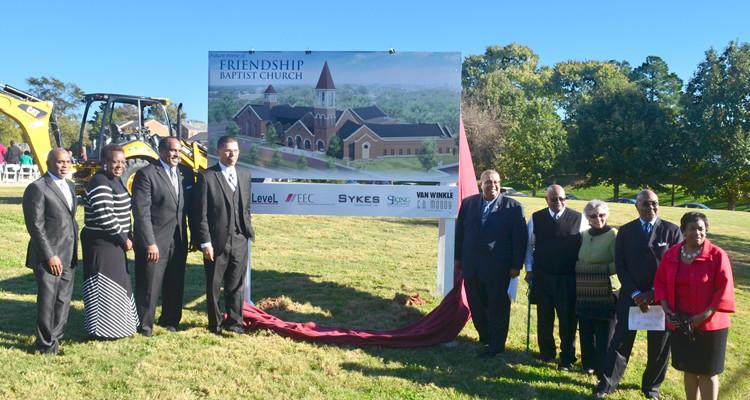Friendship Baptist Church Ground Breaking