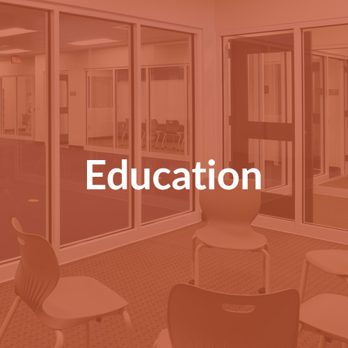 Van Winkle Markets Served: Education