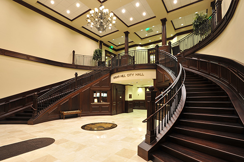Sugar Hill City Hall and Parking Deck - Lobby