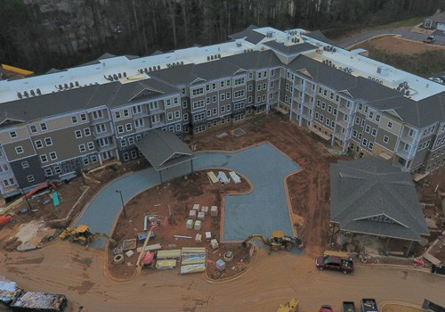 The Villas at Canterfield of Kennesaw - Above Main Entrance