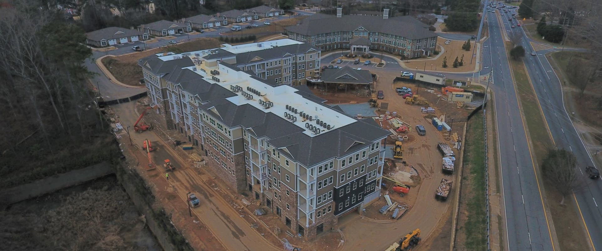 The Villas at Canterfield of Kennesaw - From Above