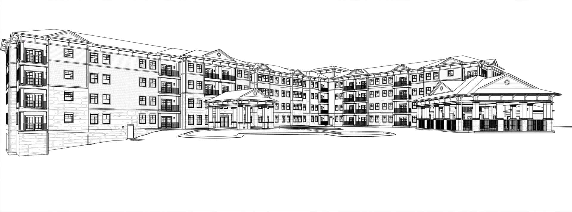 The Villas at Canterfield of Kennesaw - Rendering