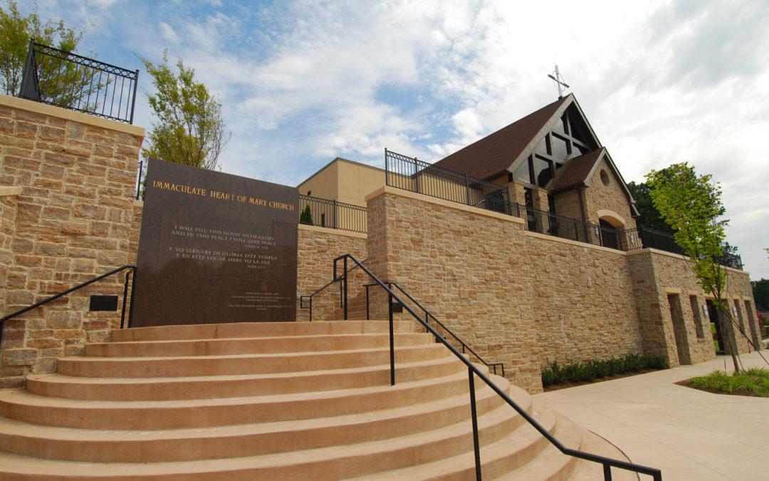 Immaculate Heart of Mary Catholic Church New Sanctuary