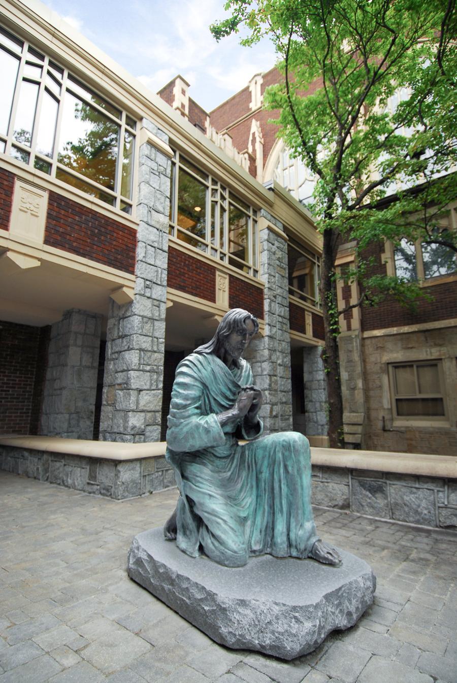 North Avenue Presbyterian Church Lobby - Portrait View