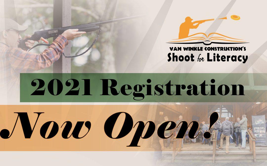 Registration for Shoot for Literacy 2021 Opens!
