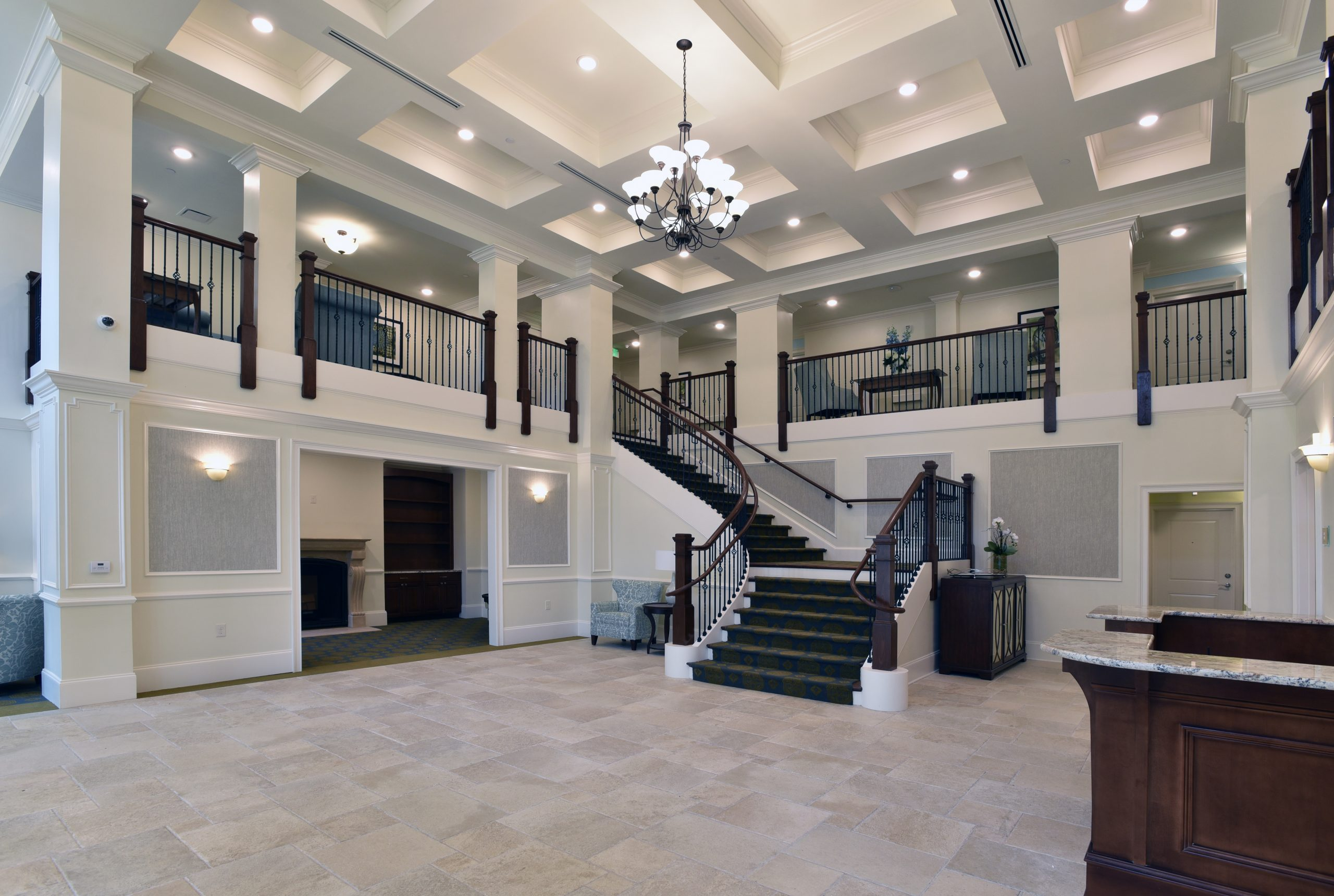 Villas at Canterfield of Kennesaw front lobby entrance